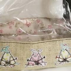 Upcyled Knitting Bag